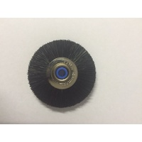 Black Bristle Brush Blue Cent