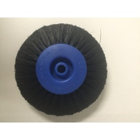 Black Bristle Brush Plas 4 Row