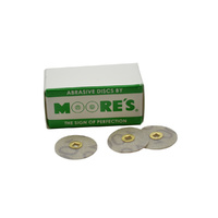 Moores Disc Plastic Garnet Medium