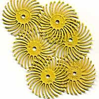 Radial Bristle Yellow 80Grit