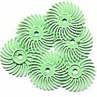 Radial Bristle Green 14,000Gri