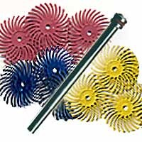 Radial Bristle Assortment 10PC