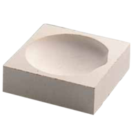 Crucible Clay SQ 70x70x23 300g