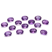 Amethyst Oval Stone 5x4mm