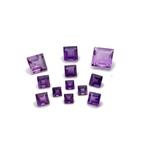 Amethyst Sq/Carre Stone 2x2mm